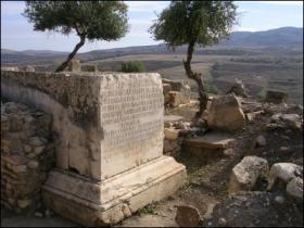 Base di statua equestre dell'imperatore Settimio Severo